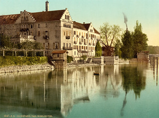 Insel Hotel, Constance, Germany, ca. 1895