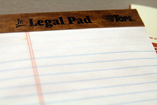 The Law School offers legal pads | by quinn.anya