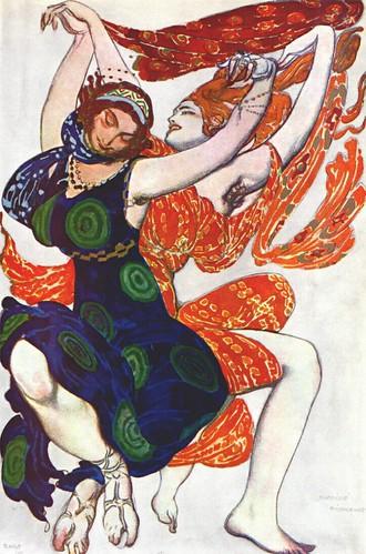 Narcisse - 1911 - costumes de deux filles de Béotie