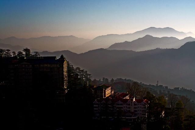 Dusk among Mountains