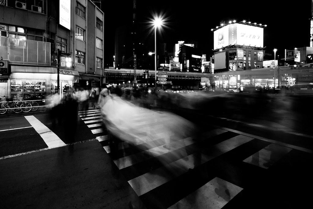 Ghosts on the Crosswalk by JamesEverett