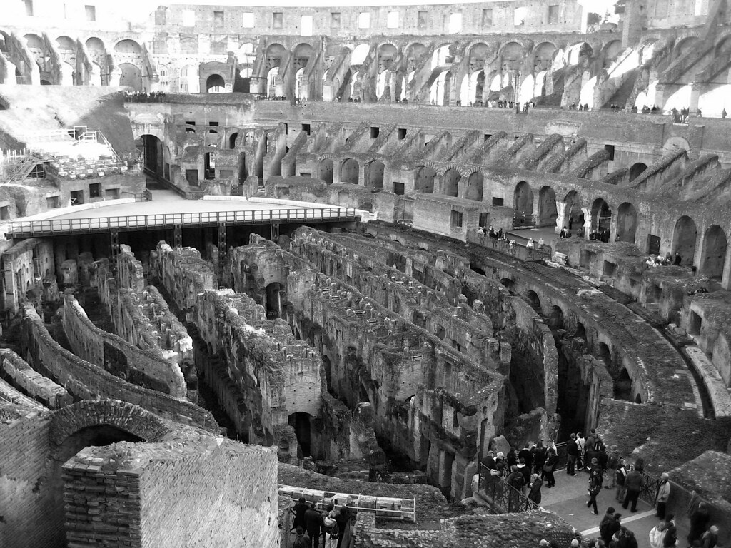 Inside the Colosseum I by wenzday01