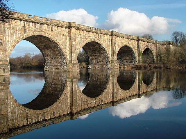 Lune Aqueduct, Lancaster, UK