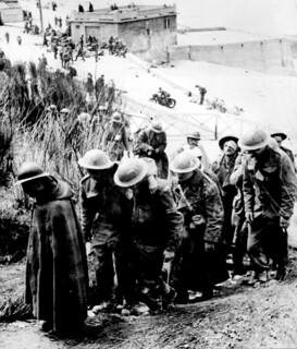 British prisoners at Dunkerque