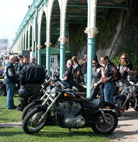 HELLS ANGELS   ENGLAND | angels at brighton | SYMEHAWK | Flickr