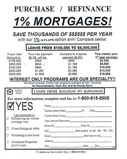 1% MORTGAGES! | by spike55151