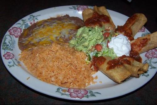 Taquitos Rancheros at La Costa Restaurant   La Costa is a ve