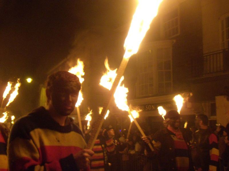 Marchers Lewes circular via Rodmell Lewes bonfire night