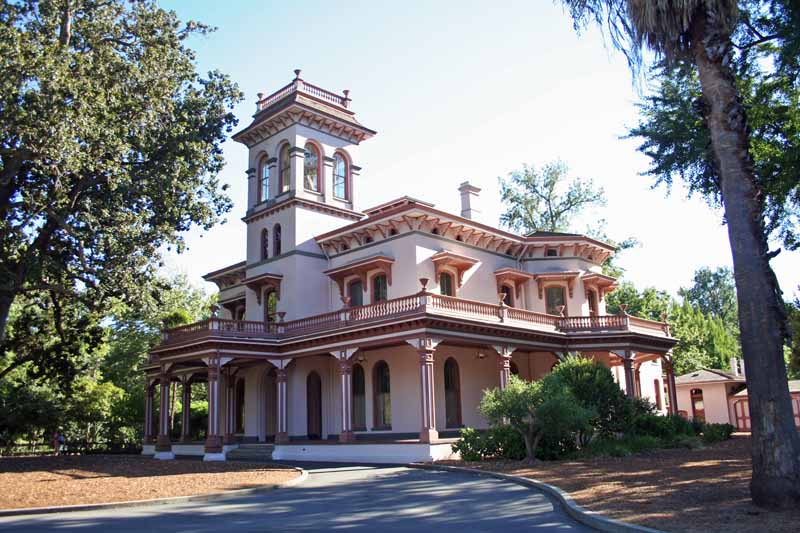 Bidwell Mansion In Chico Not Far From The Csu Chico Librar Flickr