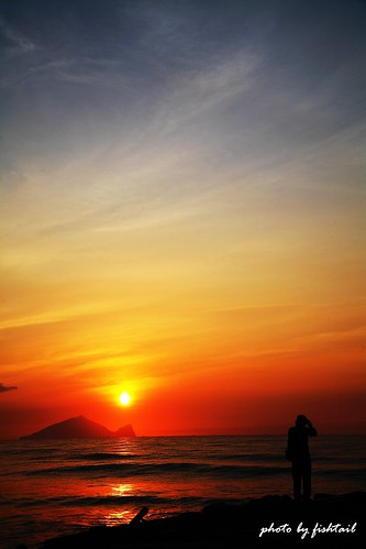sunrise taiwan yilan turtlemountainisland aplusphoto