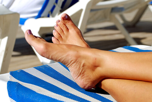 Feet on vacation | by Lisa Brewster