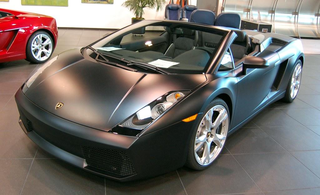 Matte Black Lamborghini Gallardo Spyder That S Insane Austin