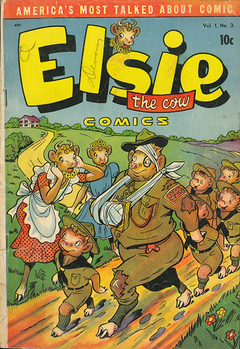 Elsie the Cow 003 (D.S. - JulyAug 1950) 001 | by senses working overtime