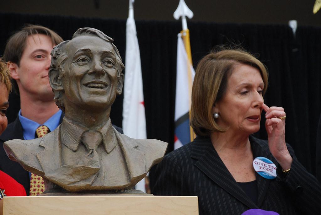 Nancy Pelosi Picking Her Nose