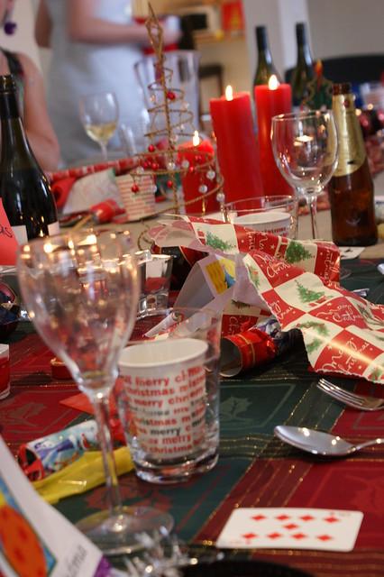 Christmas Day Table