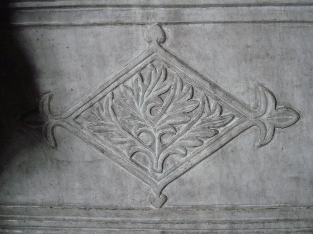 Detail from Marble Parapet, Hagia Sofia