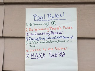 Pool Rules Girls Pool Party Lourdie | by stevendepolo