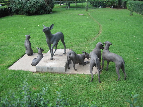 One hairless dog statue | by loppear