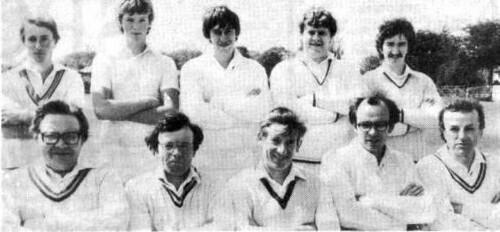 Steeton 1st XI 1984