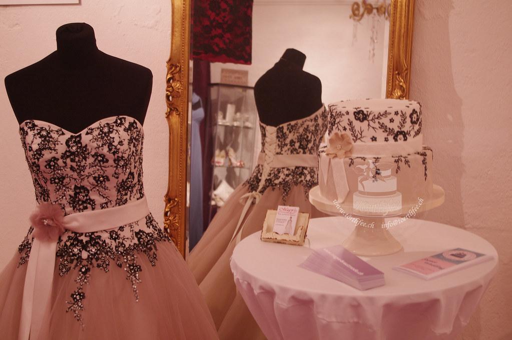 Wedding Cake and Wedding Dress