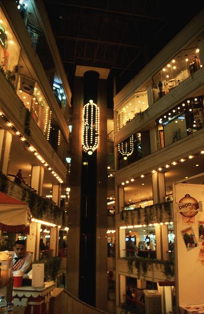 Ägypten 1999 (541) Kairo: Shopping Center