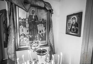 Литургия в в селе Рогавка 160