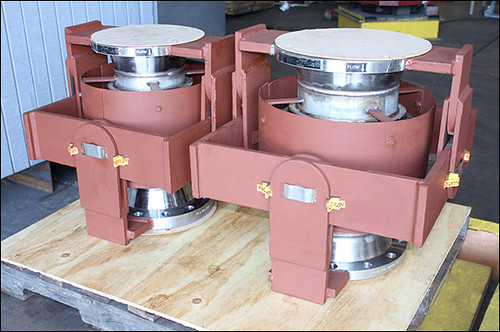 Gimbal Expansion Joints Designed for a Pipeline in Texas