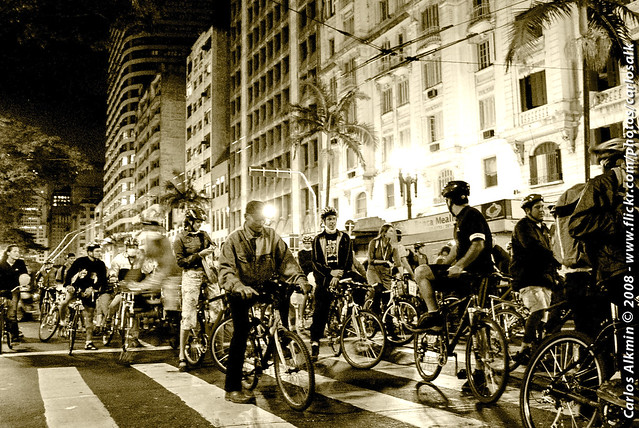 Cycle activism in Sao Paulo, Brazil