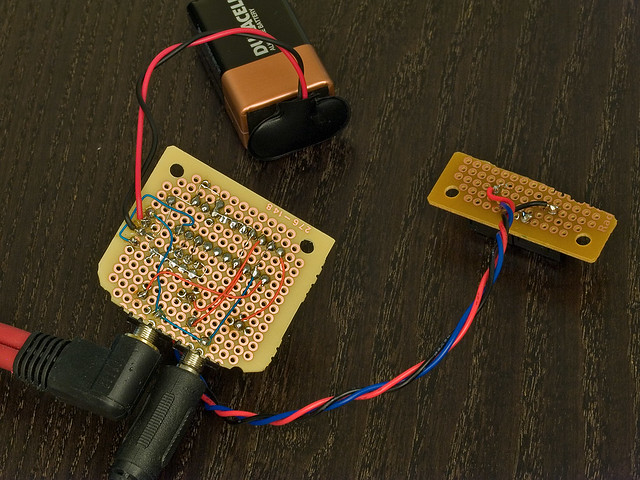 DIY: digital volume control   building with a DS1802 analog