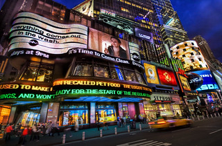 An Electric Night in Times Square   by Trey Ratcliff