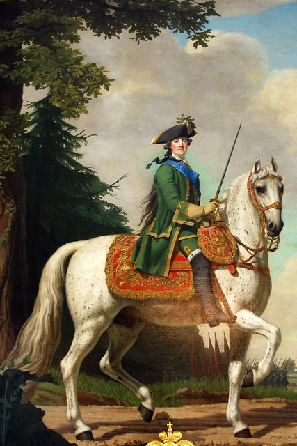 Equestrian Portrait of Catherine the Great