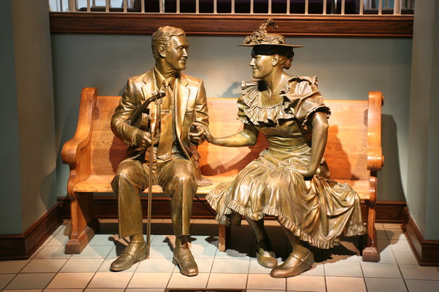 Image result for pictures of minnie pearl, and roy acuff at the opry