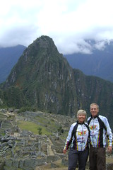 Nancy and Randy at Machu  Picchu