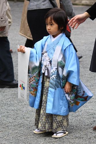 Tokyo. Traditionally Dressed Kid at Meiji-jingu | by DrPleishner