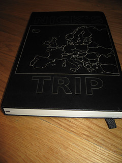 Laser etched notebook