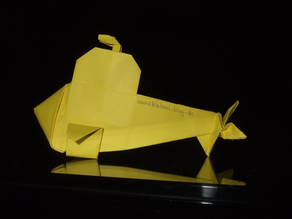 Submarine - Robin Glynn | Folded from a square of paper A gr… | Flickr | 768x1024