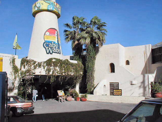 Cabo San Lucas Cabo Wabo bar