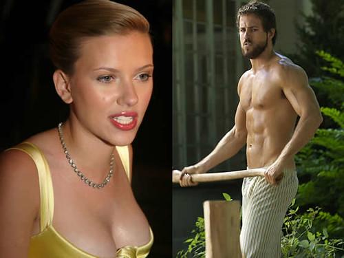 Johansson sex scarlett Scarlett's Sexiest