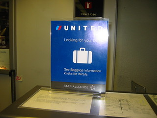United Airlines SFO luggage counter | by rynosoft