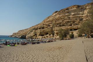 Spiaggia di Matala / Matala beach | by Luigi Rosa