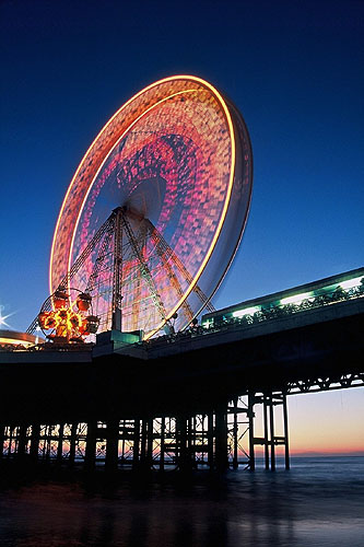 The Big Wheel on the Middle Pier, Blackpool