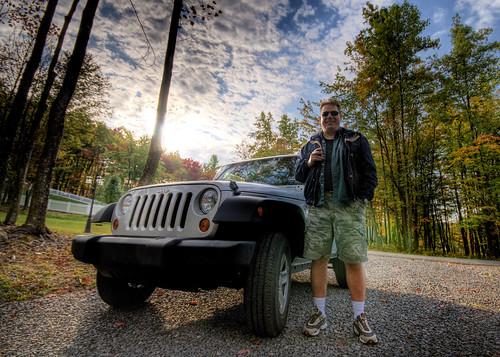 sunrise jeep wv westvirginia hdr fairmont photomatrix