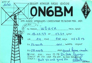 European Ham Radio Cartoon Card | Mark Anderson | Flickr