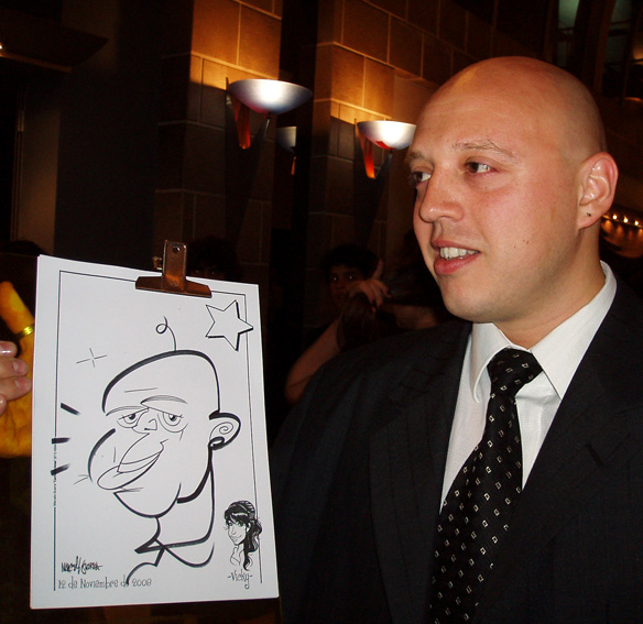 www.marceloguerra.com.ar / caricatura fiestas