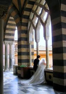 Wedding in Amalfi , Italy  Fairy tales come true