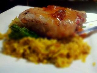 Grilled Marble Farms Pork Chop La Costa Excellent