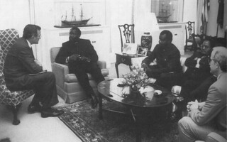 George Bush, Jonas Savimbi & Chester Crocker 1986 | by amaah