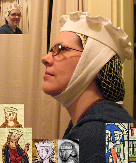 Circa 1275-1300 headwear experiment continues
