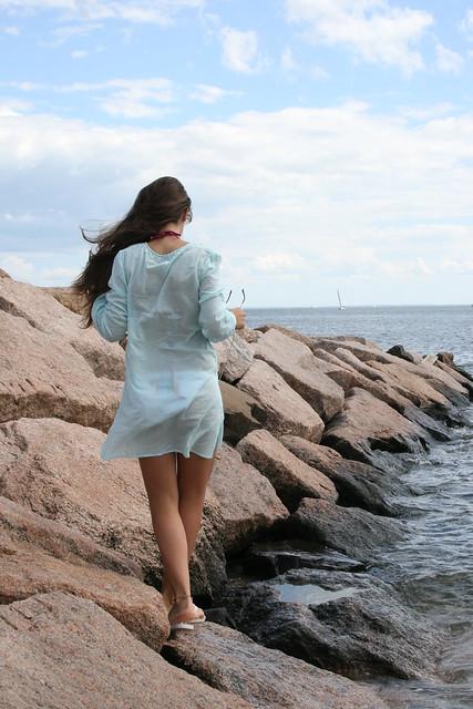 Diana Dervishi Photography.......    walking in ocean breeze..