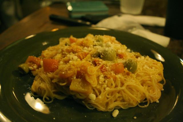 Shrimp Overload Pasta at Mogwai